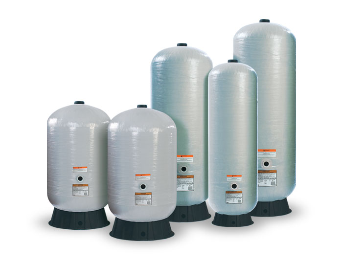 Fibrewound Air Over Water Pressure Tanks Tanks